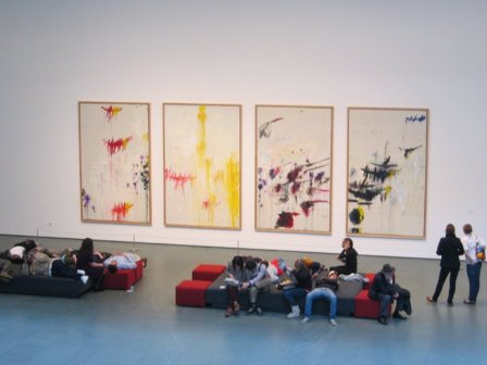 Cy_Twombly_exhibition_at_MOMA