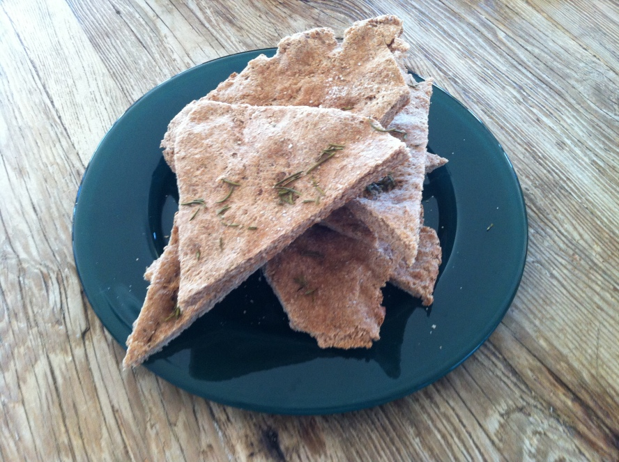 Wholewheat flatbread