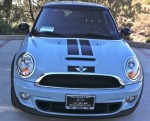 ice blue and black mini