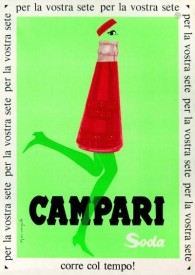 Camparisoda bottle